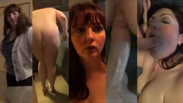Horny Mom Masturbates Son